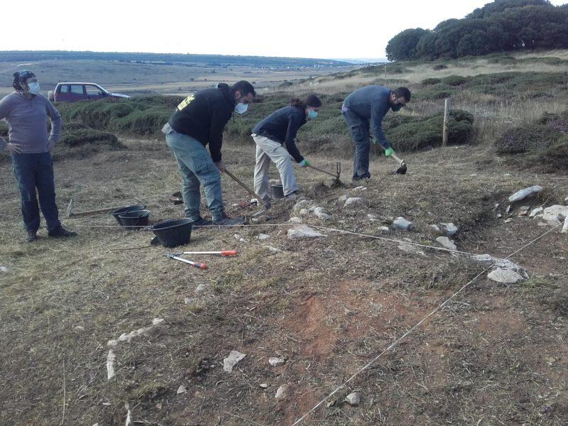 Excavando el primer día