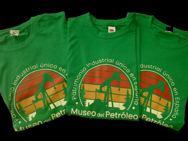 Camisetas del Museo del Petróleo